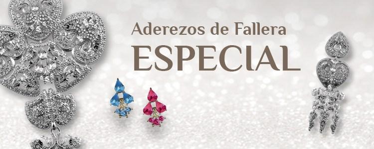 Colección Especial Aderezos de Fallera JOYALIA