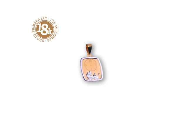 medalla carrito